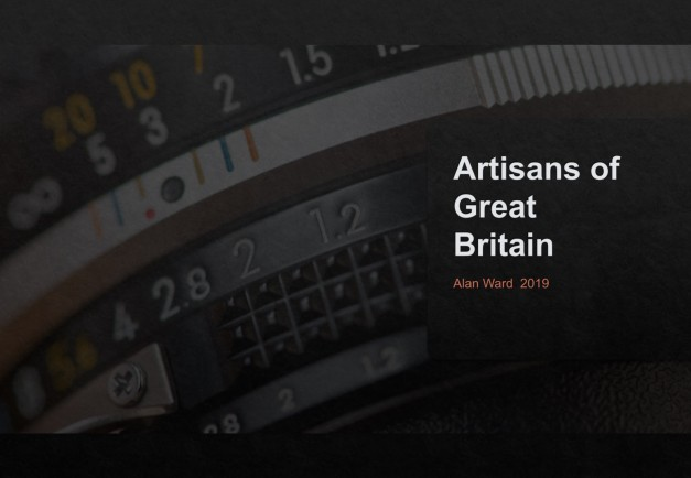 Intro slide for the Artisans of Great Britain